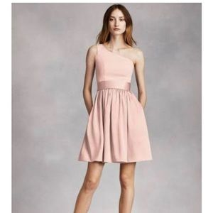 Vera Wang blush prom or cocktail dress size 4